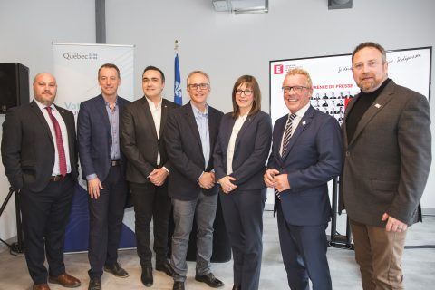 photo officielle inauguration Mauricie